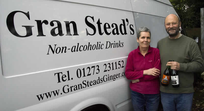 Gran Stead's Ginger deliveries