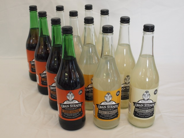 Mixed case Fiery Ginger, Still Lemonade, Lemonade with Ginger
